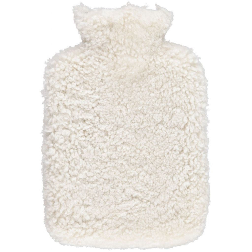 New Zealand Sheepskin Hot Water Bottle Pearl