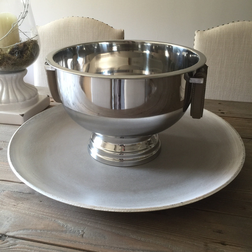 Stainless Steel Punch Bowl Large