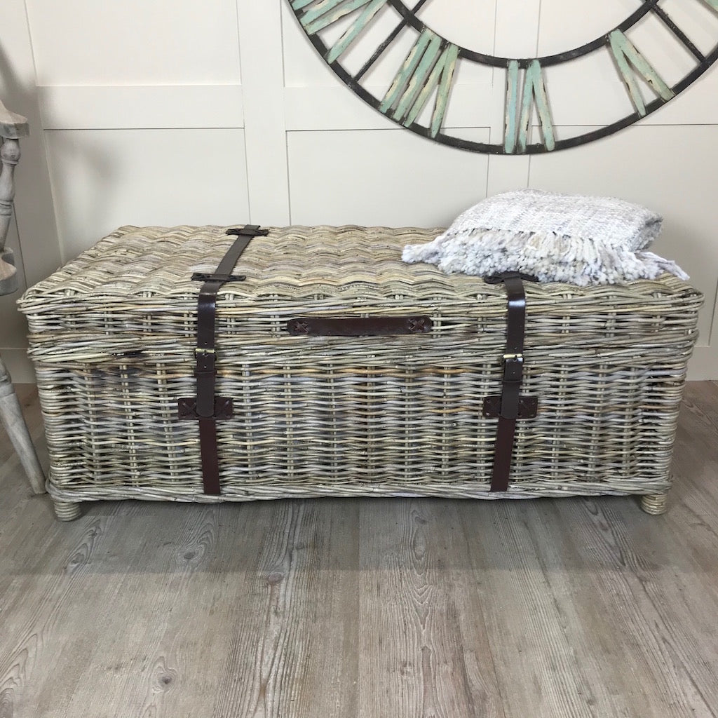 New England Coffee Table Storage Trunk