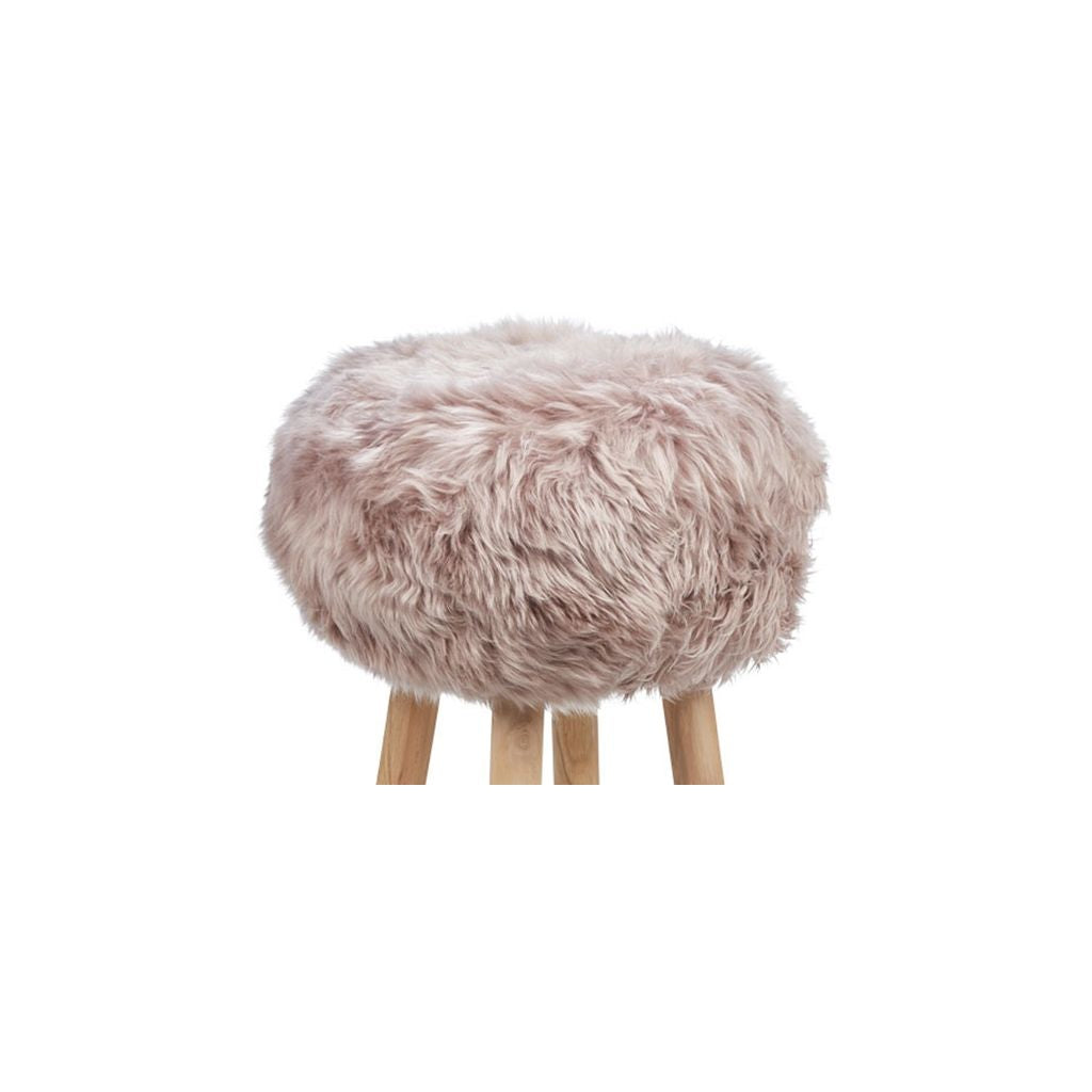 New Zealand Sheepskin Stool Dove
