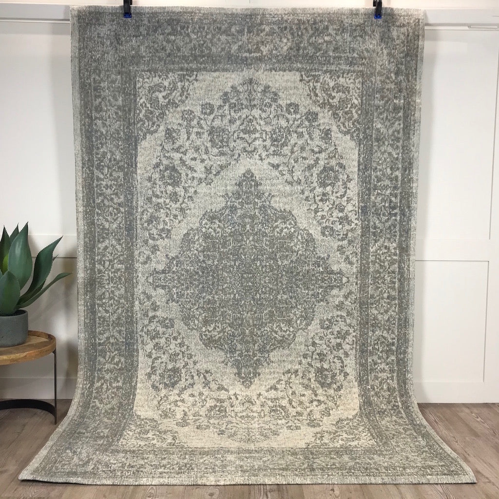 Woven Stone Sand Patterned Smooth Rug