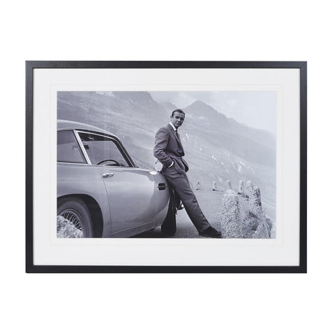 James Bond Aston Martin Swiss Alps Goldfinger Picture
