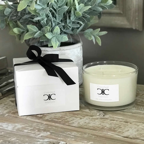 Cowshed Interiors Candle - Lime, Basil & Mandarin