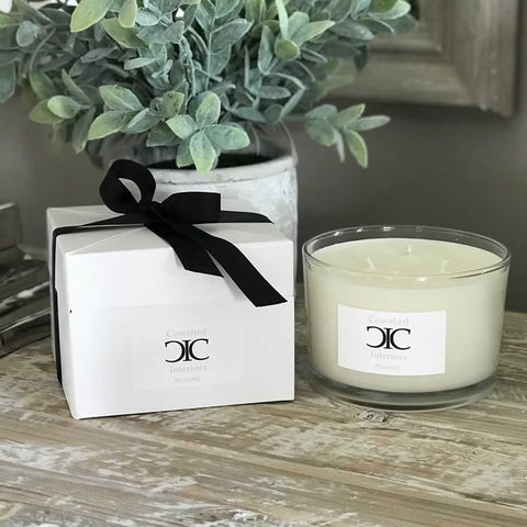 Cowshed Interiors Candle - Relaxing Spa