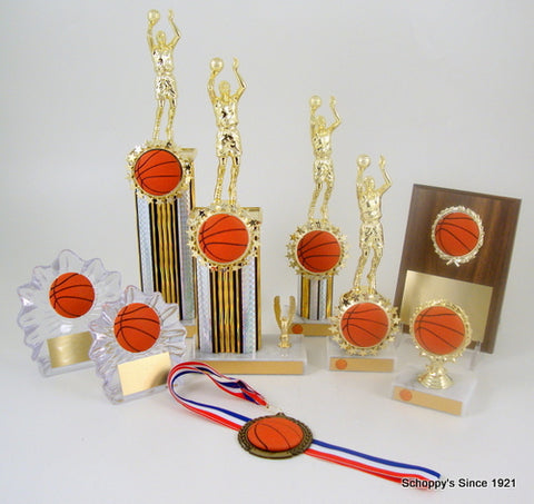 Basketball Trophies, Basketball Awards, Plaques and Medals