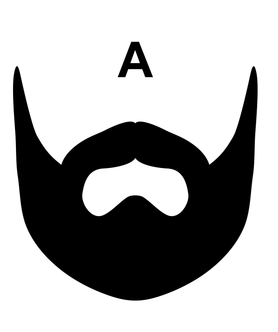 Terrific Beard Name Badge Schoppy39S Since 1921 Short Hairstyles For Black Women Fulllsitofus