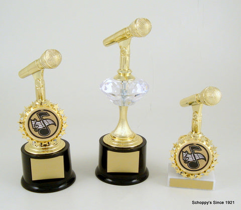 Schoppy's Microphone Trophies and Awards, Medals and Plaques