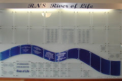 River of Life Donor Wall Somers Point NJ