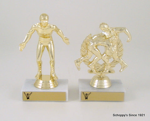 Find Wrestling Trophies and Awards, Medals and Plaques from