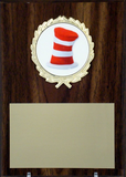 5x7 Plaque With Hat Logo-Plaque-Schoppy's Since 1921