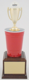Beer Pong Trophy - Large-Trophies-Schoppy's Since 1921