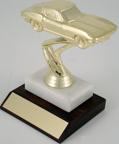 Corvette Trophy on Marble Base