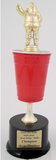 Beer Pong Trophy - Christmas Edition-Trophies-Schoppy's Since 1921