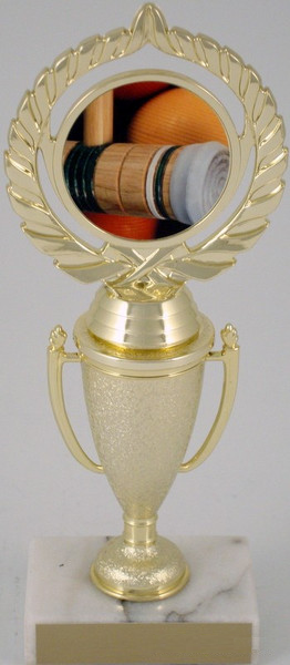 Croquet Logo on Cup