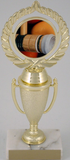 Croquet Logo on Cup-Trophies-Schoppy's Since 1921