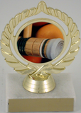 Croquet Logo Trophy-Trophies-Schoppy's Since 1921