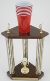 Beer Pong Champion Trophy-Trophies-Schoppy's Since 1921