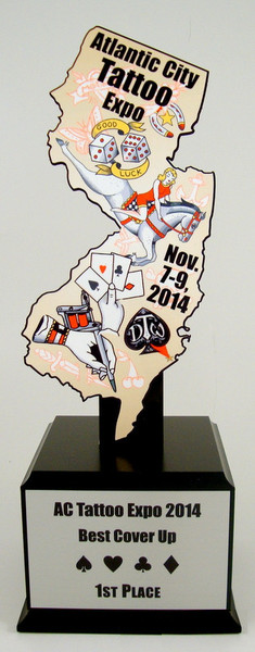 Custom State Cutout Trophy-Trophies-Schoppy's Since 1921