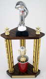 Beer Pong Champion Trophy with Resin Figure-Trophies-Schoppy's Since 1921