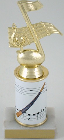 Didgeridoo Trophy  with Custom Round Column