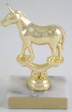 Metal Political Animal Figure Trophy On White Marble-Trophies-Schoppy's Since 1921