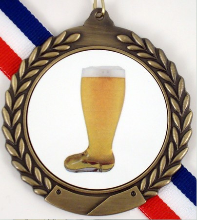 Beer Boot Gold Medal