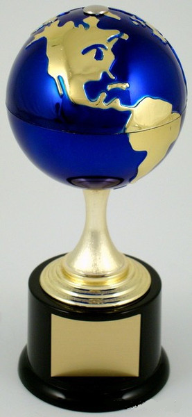 Earth Day Globe Stem Trophy-Trophies-Schoppy's Since 1921