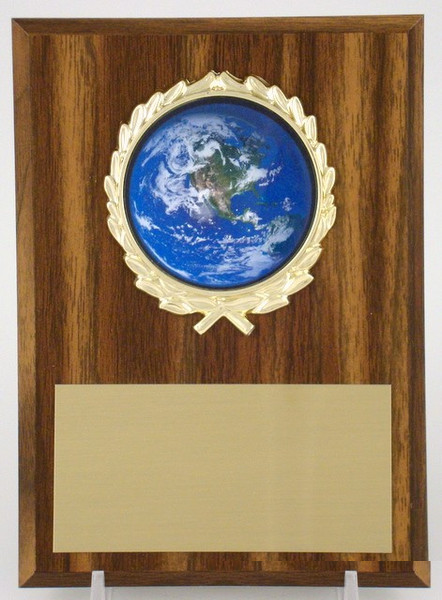 Earth Day Logo Plaque 4x6-Plaque-Schoppy's Since 1921