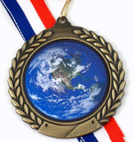 Earth Day Medal 1-Medals-Schoppy's Since 1921