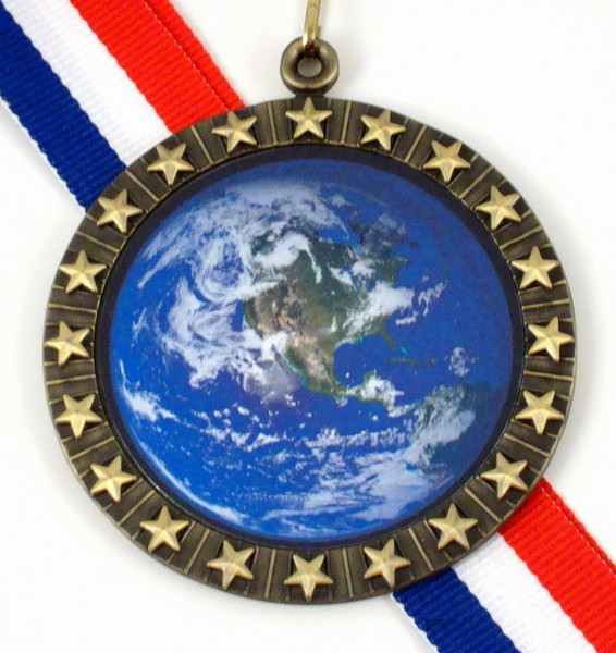 Earth Day Medal 3-Medals-Schoppy's Since 1921