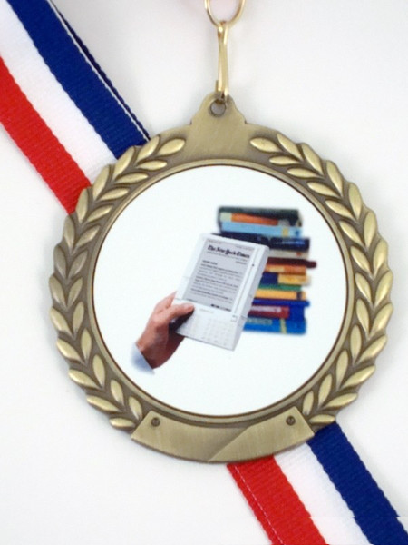 Kindle Logo Medal-Medals-Schoppy's Since 1921