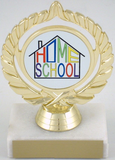 Home School Logo Trophy-Trophies-Schoppy's Since 1921