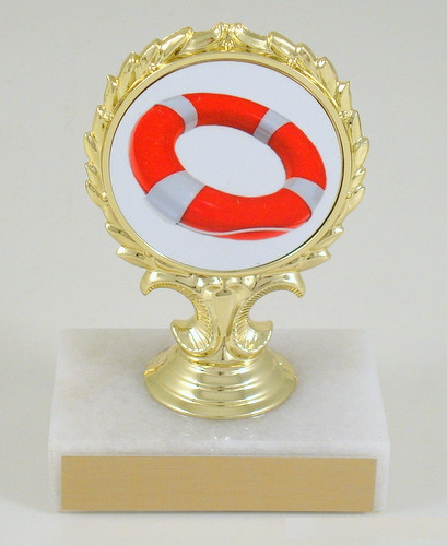 Lifeguard Logo Trophy Small-Trophies-Schoppy's Since 1921