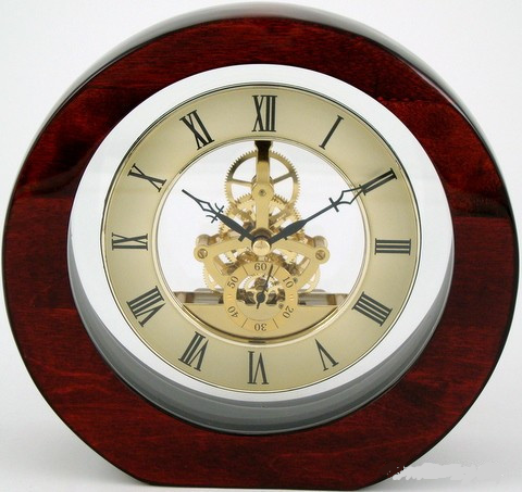 Leeber Skeleton Clock-Clock-Schoppy's Since 1921