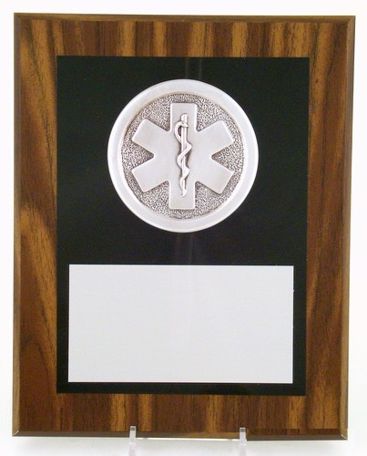 "Star of Life Plaque 8"" x 10""-Plaque-Schoppy's Since 1921"