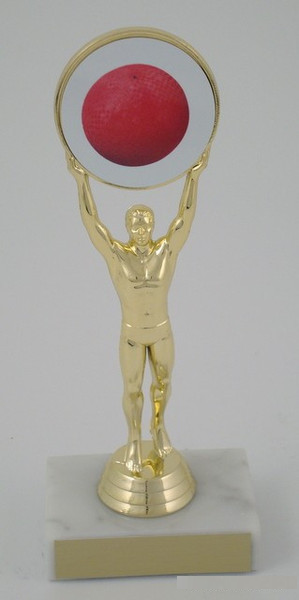 Kickball Achievement (M) Holder Trophy