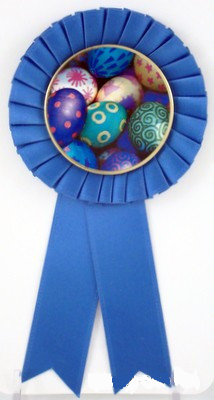 Small Rosette Ribbons - Easter Logo