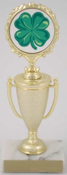 St. Patrick's Day Trophy on Cup-Trophies-Schoppy's Since 1921