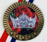 Pageant 5 Star Medal-Medals-Schoppy's Since 1921