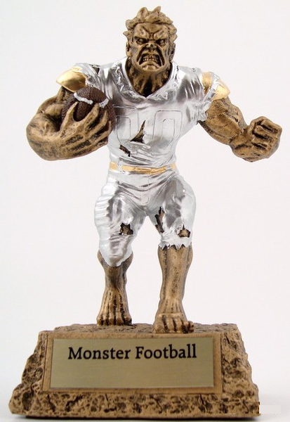 Monster Football Trophy-Trophies-Schoppy's Since 1921