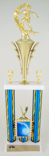 ESA Two Column Photo Front Trophy