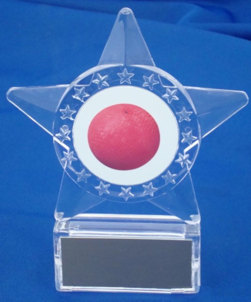 Kickball Star Holder Trophy
