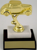 Street Rod Trophy on Marble Base-Trophies-Schoppy's Since 1921