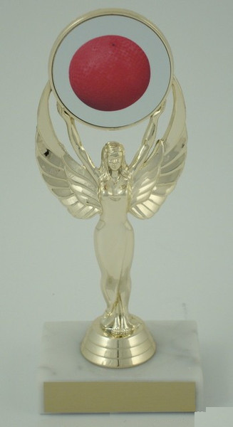 Kickball Achievement (Fe) Holder Trophy