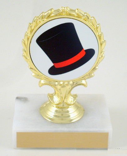Top Hat Logo Trophy & Trophy with Easter Logo | Schoppyu0027s Since 1921