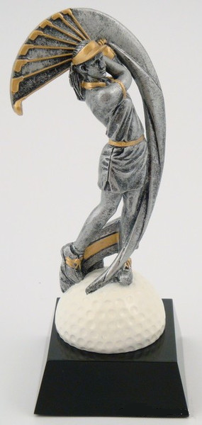 Motion Extreme Trophy - Female Golf-Trophies-Schoppy's Since 1921