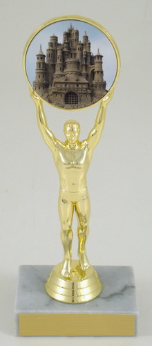 Sandcastle Logo Victory Trophy-Trophies-Schoppy's Since 1921