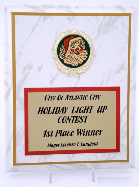 Christmas Plaque 8 x 10