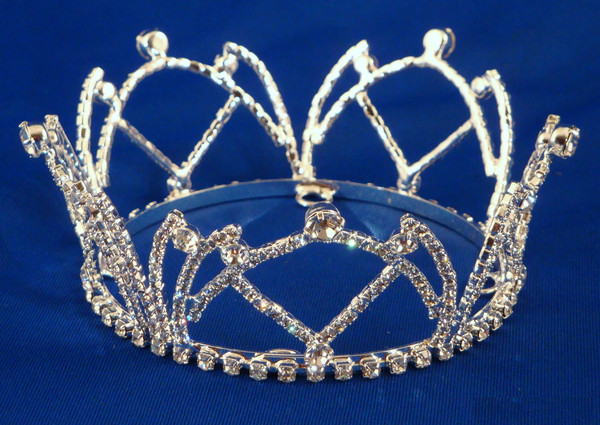 Swarovski Austrian Crystal Crown C25-Pageant-Schoppy's Since 1921