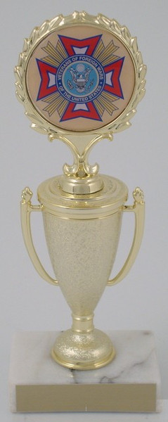 VFW Dome Mylar on Cup